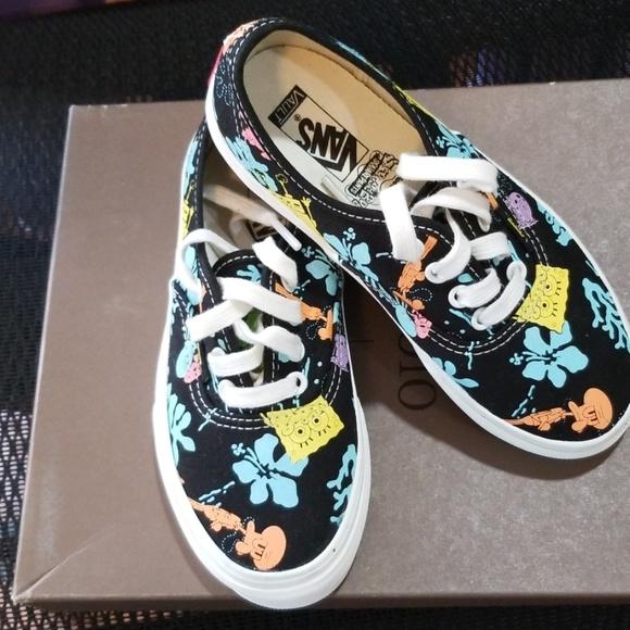 Vans Shoes   Kid Sponge Bob Vansnew No Box   Poshmark